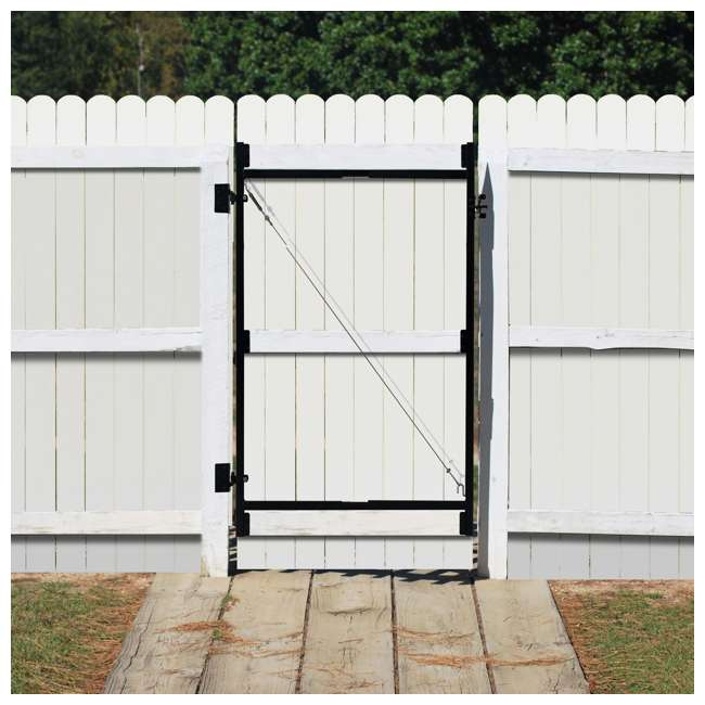 """AG36-3 Adjust-A-Gate Gate Building Kit, 36""""-60"""" Wide Opening Up To 7' High 2"""