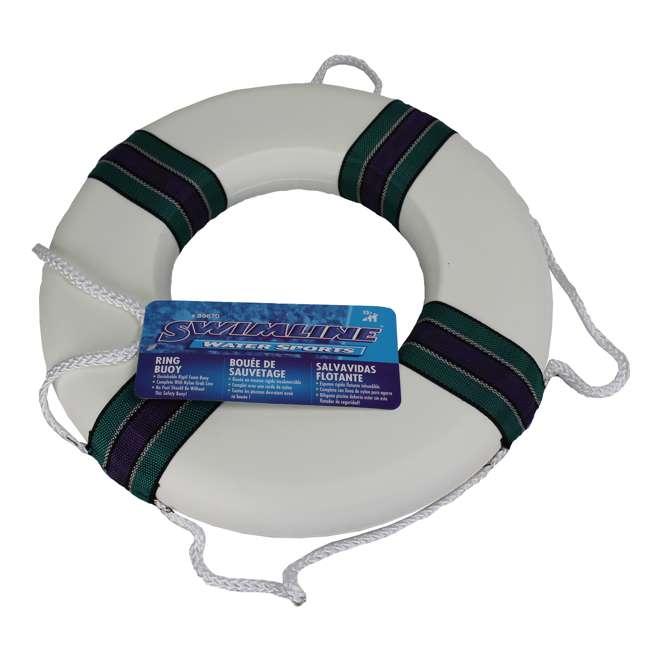 Swimline 18 Inch Lifeguard 39 S Foam Ring Buoy 89870