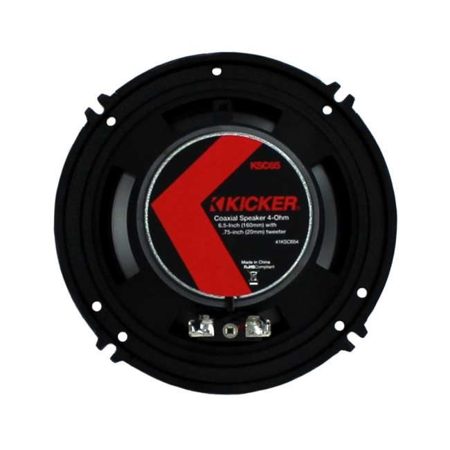 41KSC654 Kicker 6.5-Inch 200W 2-Way Speakers (Pair) | 41KSC654 5