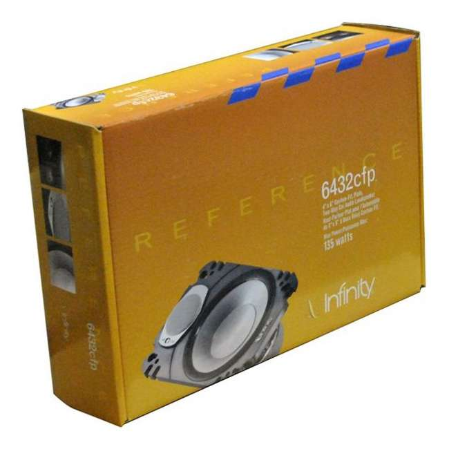 REF6432CFP Infinity REF6432CFP 4x6-Inch 135W 2Way Plate Speakers 2