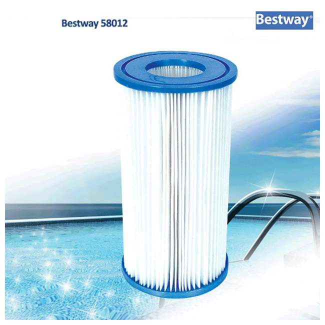 56726E-BW + 6 x 58012E-BW Bestway Power Steel 16x4 Ft Pool Set with Accessories 9