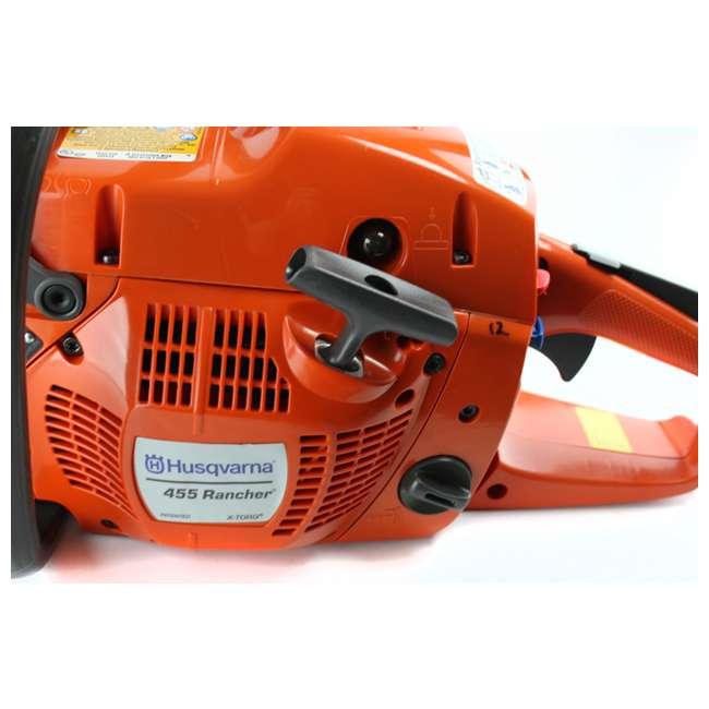 952991650-BRC-RB HUSQVARNA 455R Rancher 20-Inch 56cc Gas Powered Chainsaw (Refurbished) 3