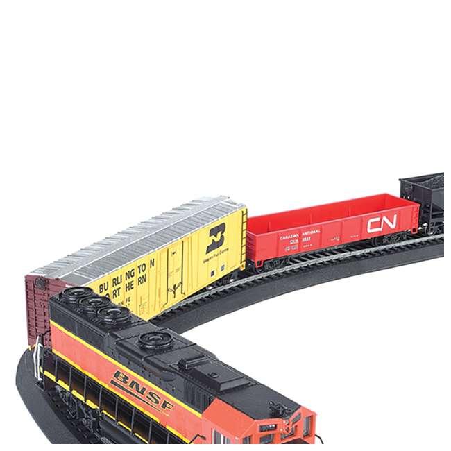BT-00957 + BT-00706 Bachmann HO Scale Battery Power Rail Champ & Electric Rail Chief BNSF Freight Train Sets 8