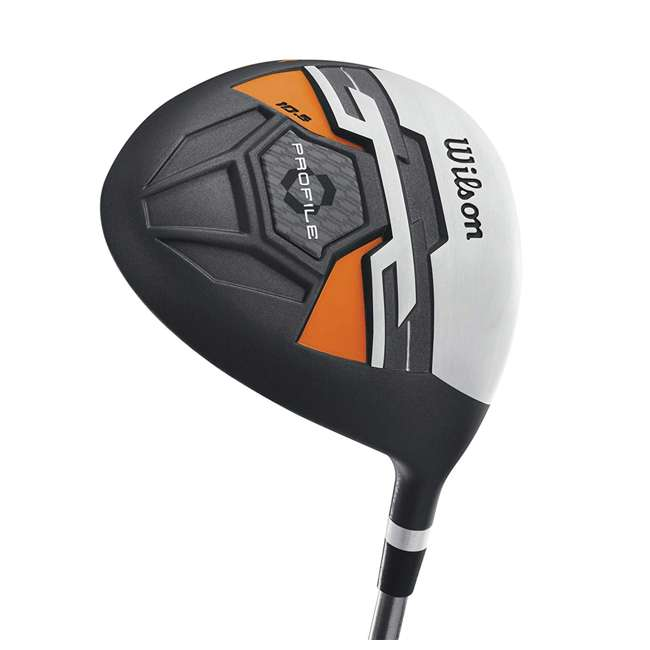 WGGC58300 Wilson Profile XD Teen Right Handed Complete Golf Club Set w/Orange Bag (2 Pack) 5