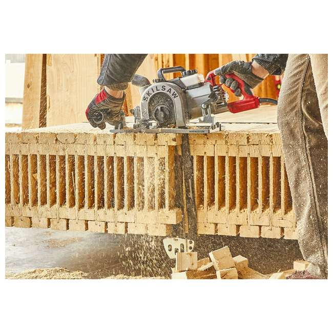 SPT55-11 SKILSAW SPT55-11 16 Inch Heavy Duty Worm Drive SAWSQUATCH Carpentry Chainsaw 6