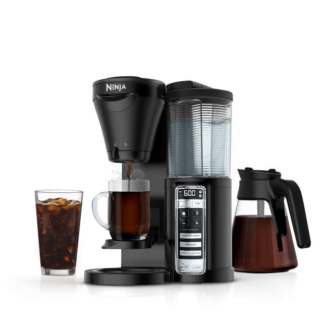 CF020 + CBCF080 + 2 x CF14HOMEW Ninja Coffee Brewer + Recipe Book + 14-Ounce Cup (2 Pack) 4