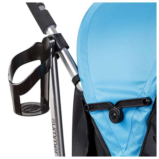 21840A Summer Infant 3Dlite 42 Inch Convenience Stroller, Caribbean Blue 2