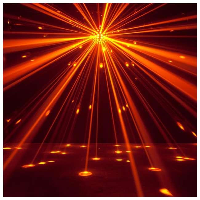 STARBURST + MINISTROBE-LED American DJ Starburst HEX LED Sphere Lighting Effect and Mini LED Strobe Light 10