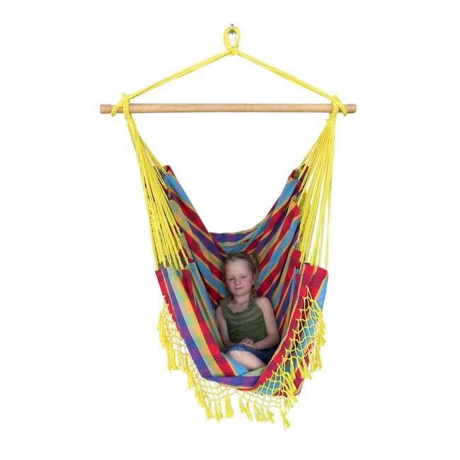 B523 Vivere Brazilian Hammock Chair, Paradise  4