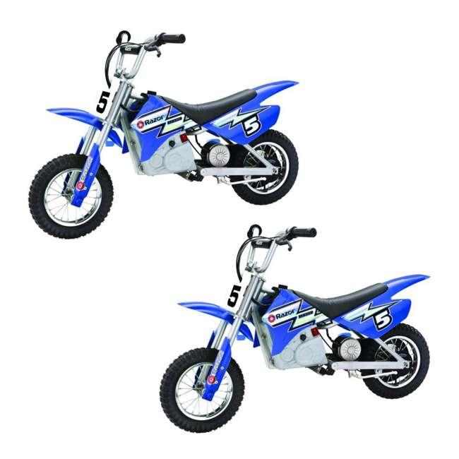 15128040 Razor MX350 Dirt Rocket Electric Dirt Bike (2 Pack)