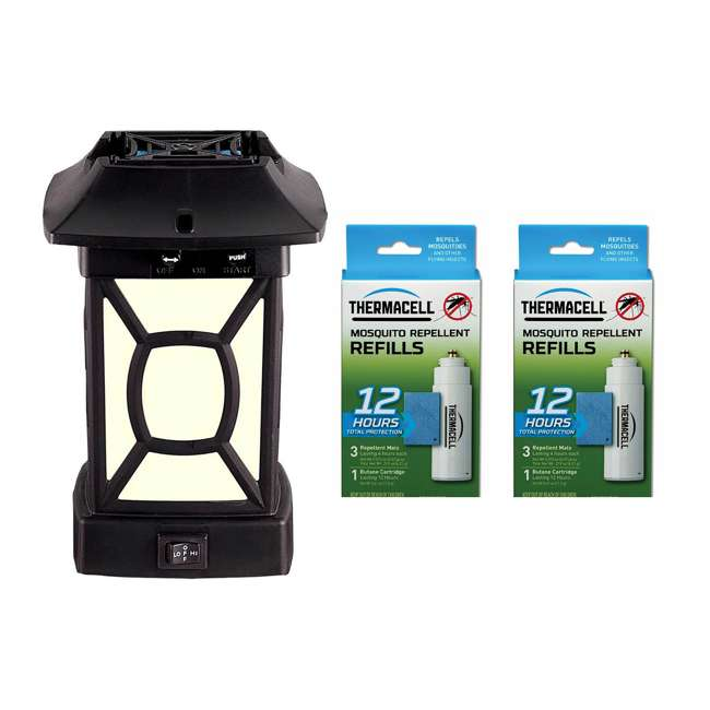 MR9W Thermacell MR9W Cambridge Mosquito Repeller Lantern & Repellent Refill (2 Pack)