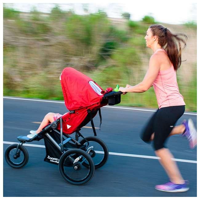 JVY-8060 Joovy 360 Zoom Ultralight Light Swivel Baby Stroller Jogger, Blue 3