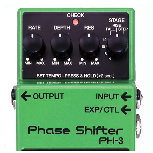 PH-3 Boss PH-3 Phase Shifter Multi Effects Guitar Stompbox (2 Pack) 3