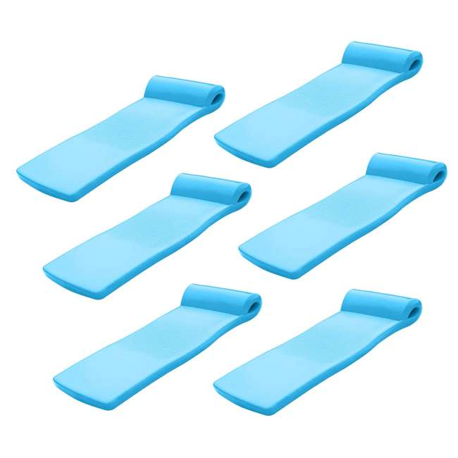 6 x 8021531 TRC Recreation Super Soft Ultra Sunsation Swimming Pool Float Water Lounger Raft (6 Pack)