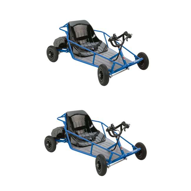 25143540 Razor 25143540 Kids Youth Rider Electric Car Go Kart Dune Buggy, Blue (2 Pack)