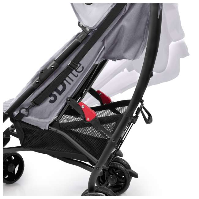 32303 Summer Infant 3Dlite Lightweight Folding Convenience Toddler Baby Stroller, Gray 3