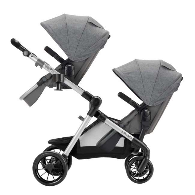 63012254 Evenflo 63012254 Second Seat for Pivot Xpand Stroller, Travel System, Percheron 4