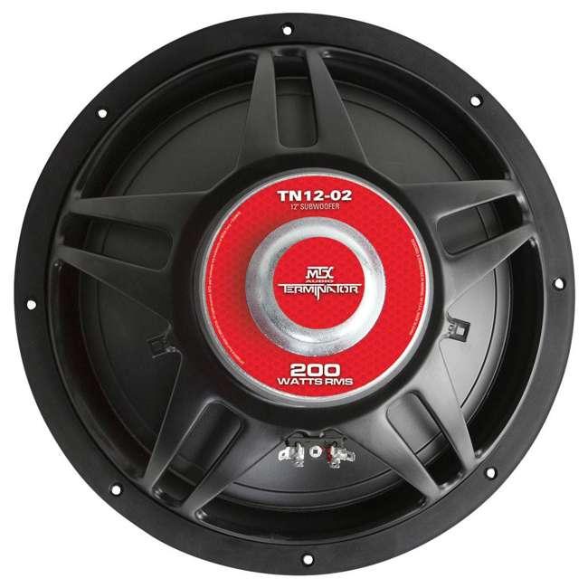 TN12-02 MTX TN12-02 12-Inch 400W Subwoofer TN1202 2