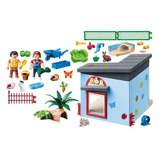 PLAY-9277 Playmobil Small Animal Boarding Building Kids Educational Toy Set & Figurines 1