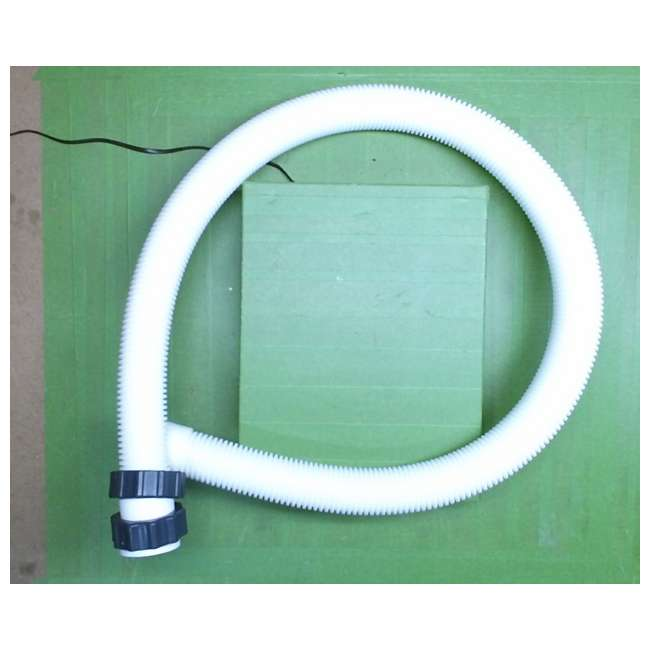 11009-Hose-with-Nuts-59in Intex 11009, 1.5m X 1-1/2in Dia Pump Hose with Nuts (New Without Box) 1