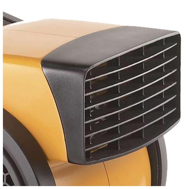LKO-4900-TN-U-A Lasko Performance 3 Speed High Velocity Utility Blower Fan, Yellow (Open Box) 4