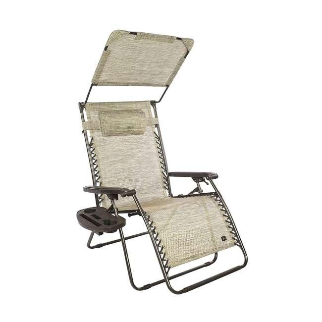"""GXW-452Sr Sand 33"""" Wide XXL Zero Gravity Chair"""