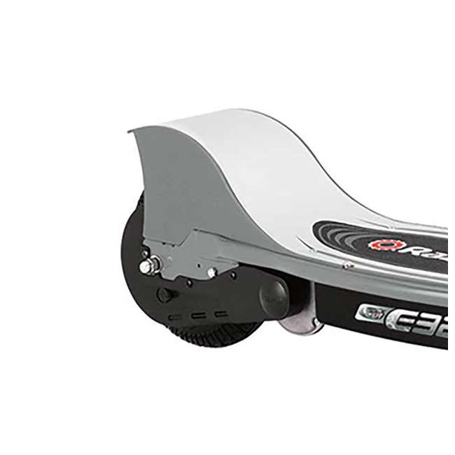 13116312 Razor E325 Electric Battery Ride On Kids Scooter and V17 Youth Sport Helmet 7