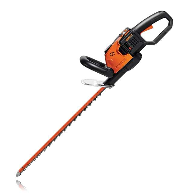 WG291 Worx WG291 56V 24 Inch Lithium Ion Cordless Hedge Trimmer with Battery & Charger