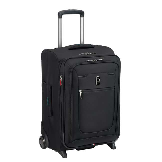"""40229172000 DELSEY Paris 20"""" Upright Expandable 2 Wheel Hyperglide Carry On Luggage, Black 1"""