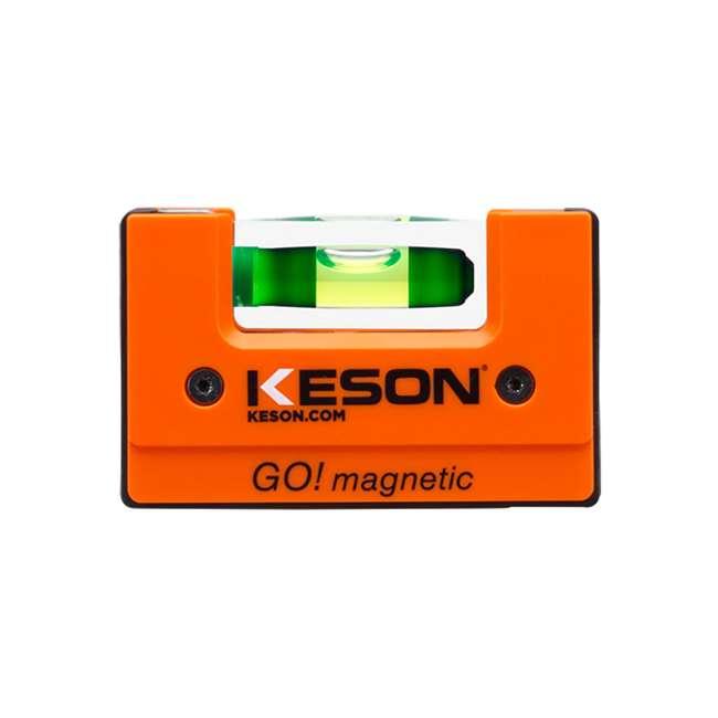 LKTFM Keson LKTFM 9-Inch V-Groove Torpedo Style Level Tool 4