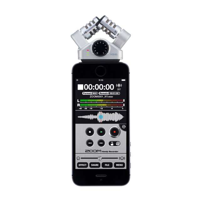 ZIQ6 Zoom iQ6 X/Y Microphone Field Recorder (2 Pack) 5
