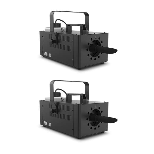 SM-100 Chauvet DJ Snow Machine with Wired Remote (2 Pack)