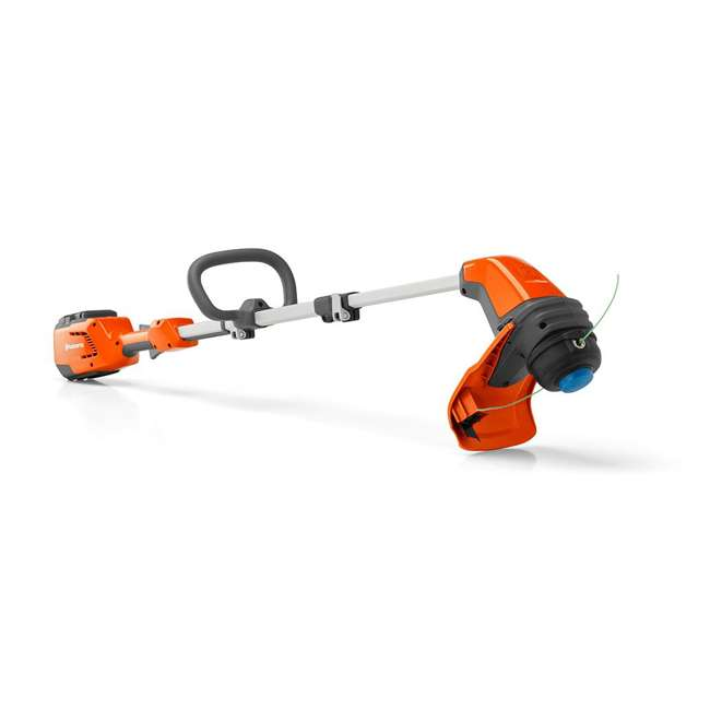 HV-TR-967098702 Husqvarna 115iL 36.5 Volt Straight Shaft Battery Powered String Trimmer, Orange 1