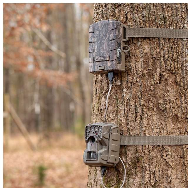 3 x MCG-13333 Moultrie M4000i Compact Night Vision Trail Camera, Smoke Screen Camo (3 Pack) 3