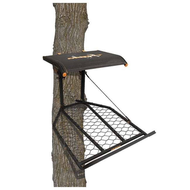 MUD-MFP1200 Muddy The Boss XL Wide Stance Hang On 1 Person Deer Hunting Tree Stand Platform