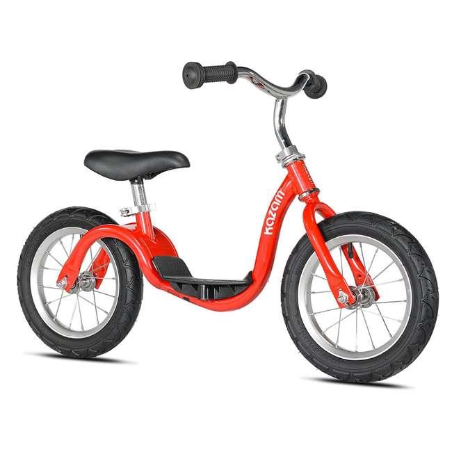 KZM15SRD-U-A Kazam Easy Balance Step Through Frame Neo Balance Bike (v2s), Red (Open Box)