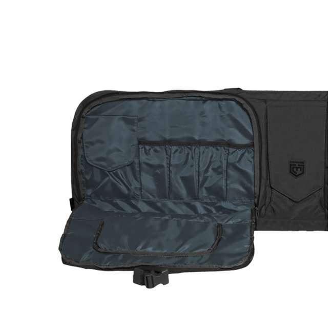 CPG-DB-TA3G-L-B Cannae Pro Gear The Triplex Acies 2 Long Gun and 2 Hand Gun Carry Bag, Black 3