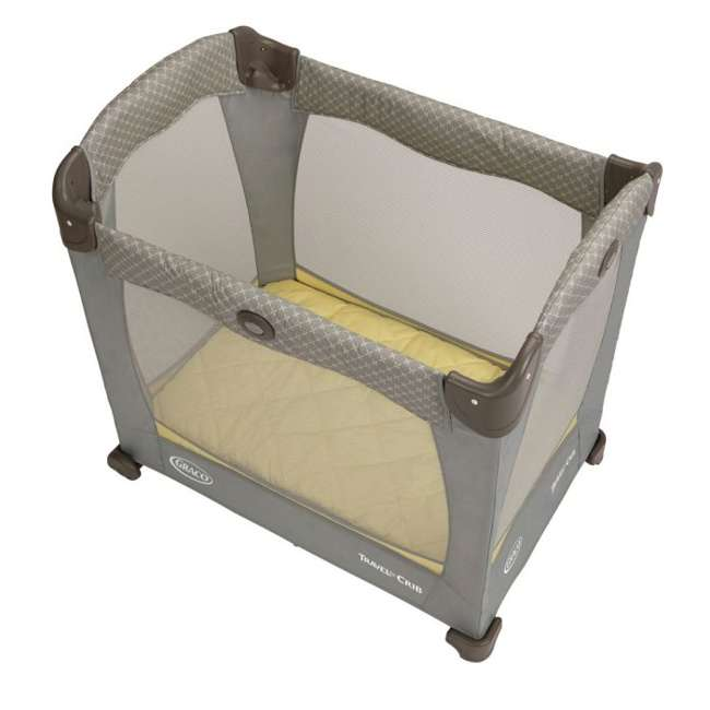 1843727 Graco Baby Travel Lite Portable Crib with Stages & Bassinet - Peyton | 1843727 3