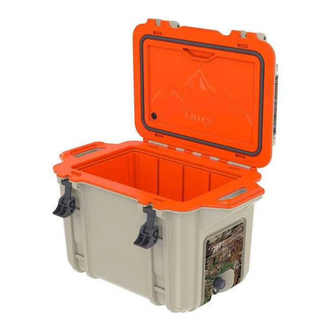 77-54464 Otterbox Venture Heavy Duty Outdoor Camping Fishing Cooler 45-Quarts, Back Trail