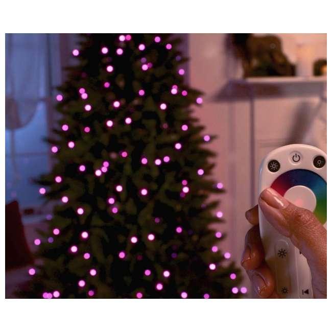 TG70CH119P00 Home Heritage 7' Color Blast Multiple Light Function Micro Dot LED Christmas Tree 2