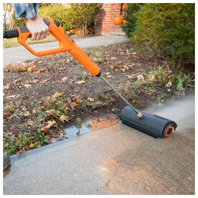 GNRC-7664 Generac 18-Inch Rolling Power Broom Pressure Washer Attachment 3