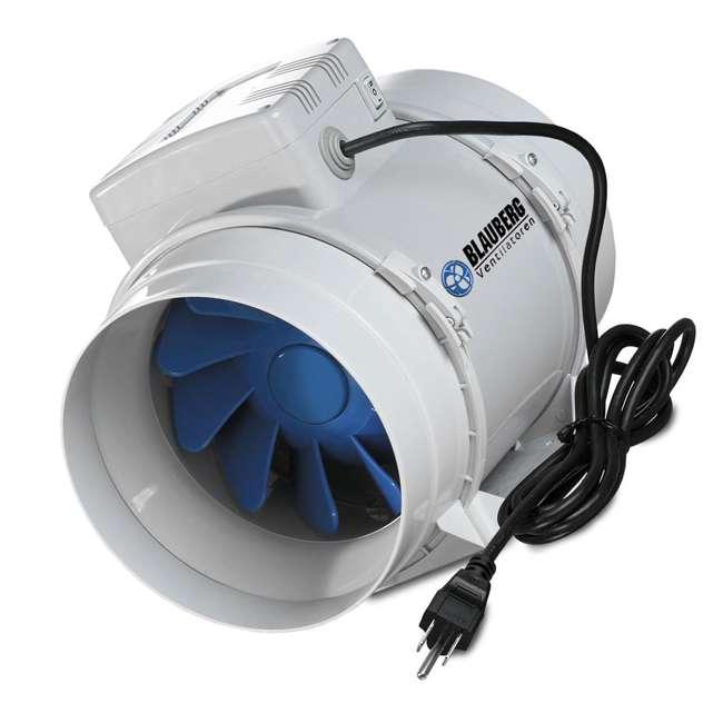 Blauberg 4 Quot Adjustable Turbo Inline Mixed Flow Fan 105