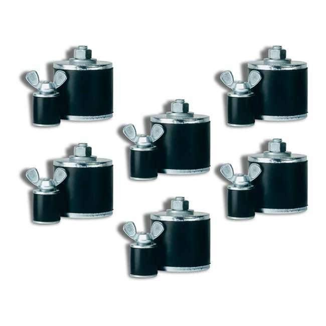 6 x 269948 Oatey Cherne 4-Inch Kwik N Sure Pipe Gripper Plug (6 Pack)