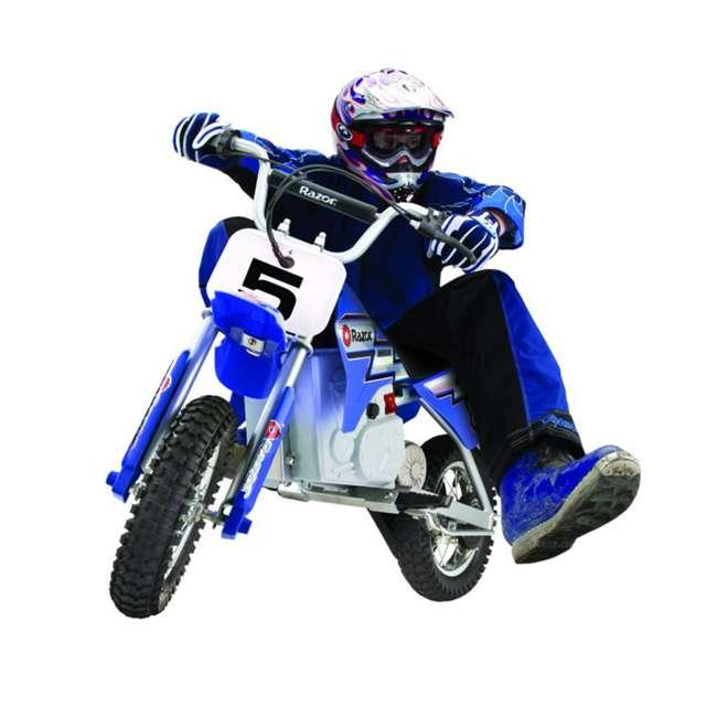 15128040 Razor MX350 Dirt Rocket Electric Motorcycle Dirt Bike, Blue 1