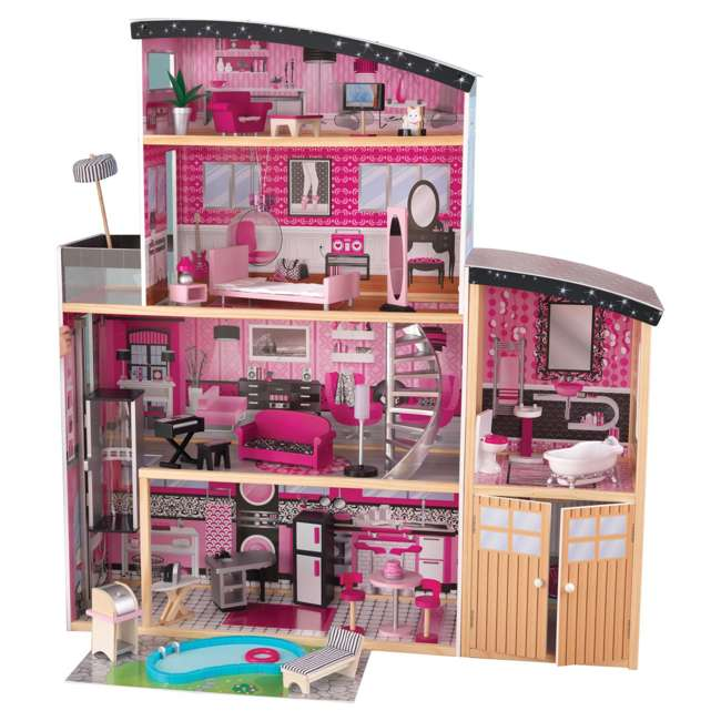 65826 KidKraft Sparkle Mansion Dollhouse