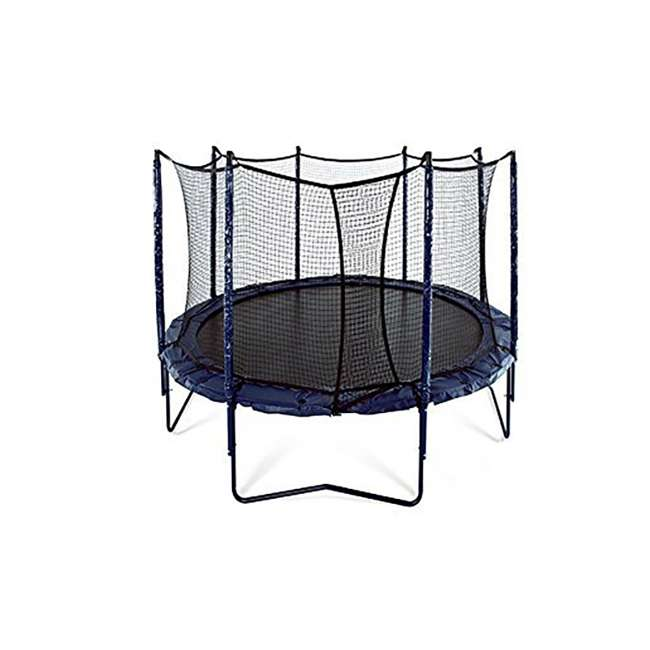 UNE-U-11726-01 JumpSport Elite 10 Foot StagedBounce Technology Trampoline System with Enclosure