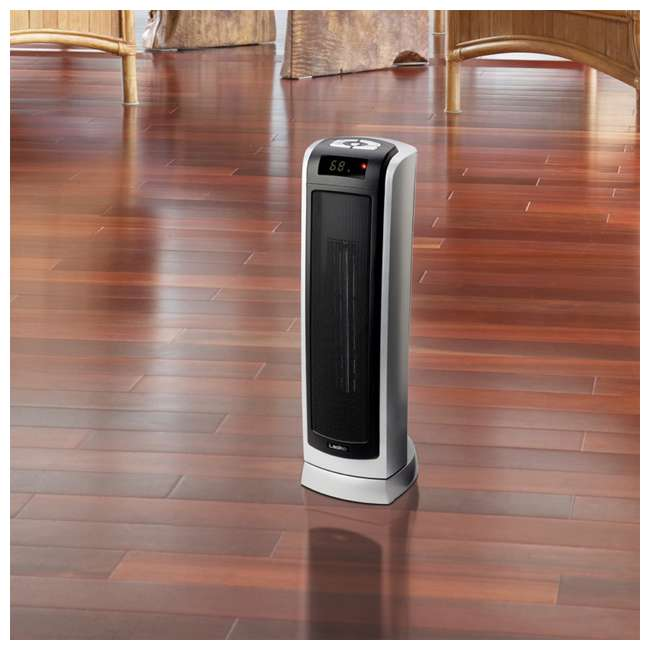 LKO-5521-TN Lasko 5521 Portable Electric 1500W Room Oscillating Ceramic Tower Space Heater 5