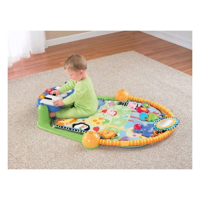 W2621 Fisher Price Kick & Play Piano Muscial Gym 2
