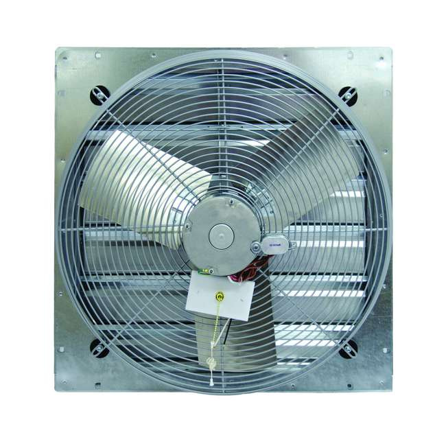 "CE30DS TPI Corporation CE30DS 30"" Shutter Mounted Single Phase Direct Drive Exhaust Fan"