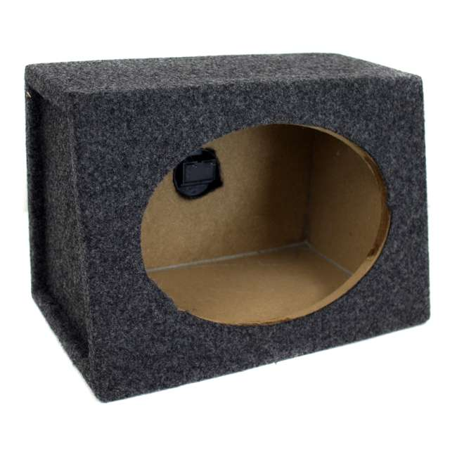 TW6X9 Q-Power 6 x 9 Car Audio Speaker Box Enclosures, 2 Speakers 1